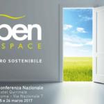 Open Space 2017 – Il Futuro sostenibile, idee per l'Italia
